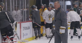 Golden Knights Head Coach Gallant speaks on injuries and cuts before last two pre-season games – VIDEO