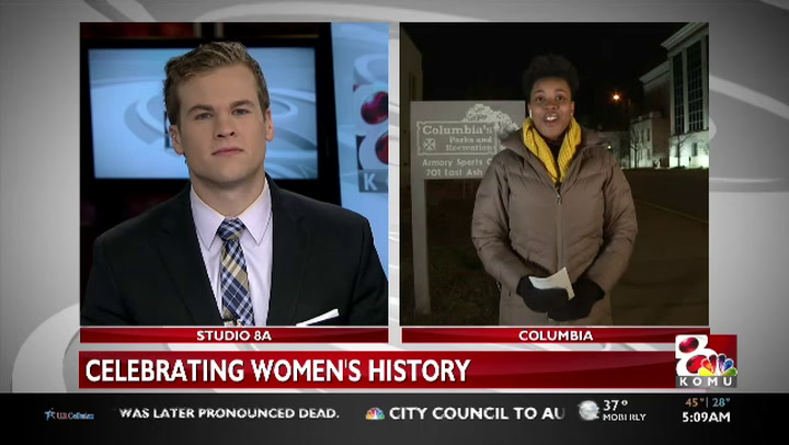 Columbia Parks and Rec celebrating Women's History Month