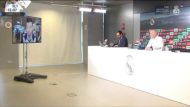 La rueda de prensa de Zidane previa al duelo liguero ante el Elche