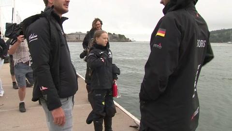 Polémica en torno a las emisiones de carbono del viaje de Greta Thunberg