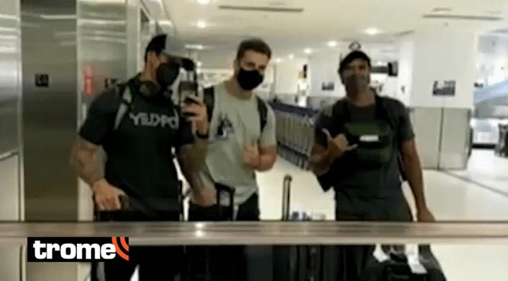 Nicola Porcella, Hugo García e Israel Dreyfus viajaron a Puerto Rico para representar a EEG Perú