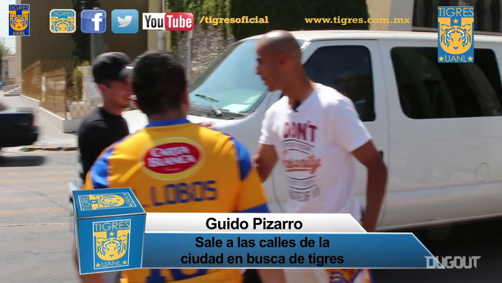 When Guido Pizarro surprised Tigres fans around the city