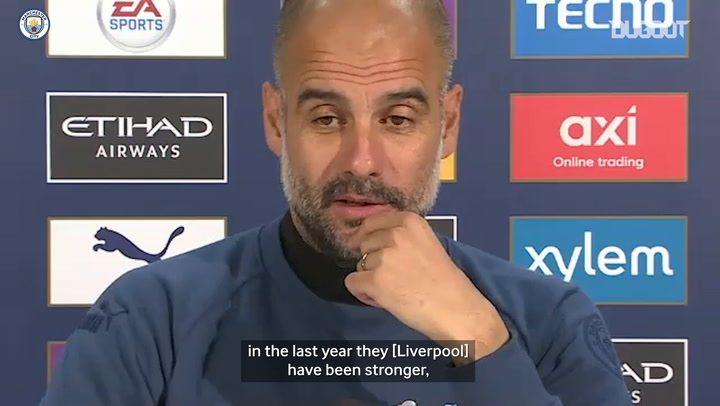 Pep: 'Playing Liverpool improves our level'