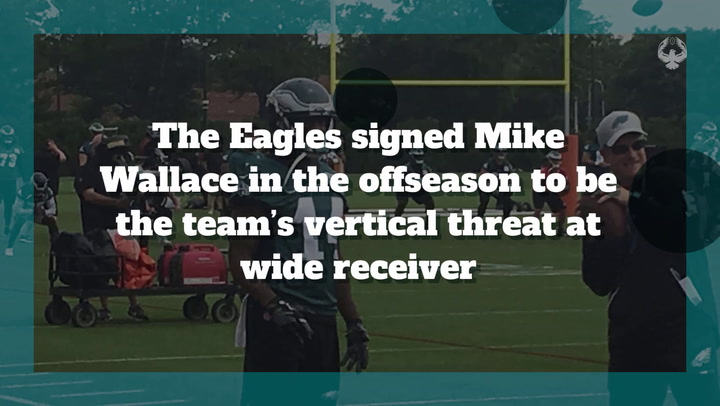 WR Mike Wallace is 'progressing'; Eagles hopeful for his return this season