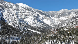Mount Charleston gets fresh blanket of snow