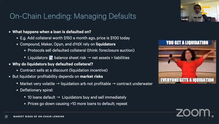 DeFi Risk and Regulation Workshop, Continued