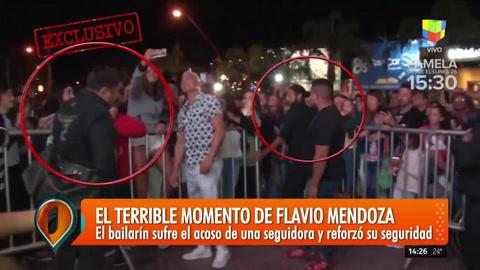 ¿En peligro? Flavio Mendoza