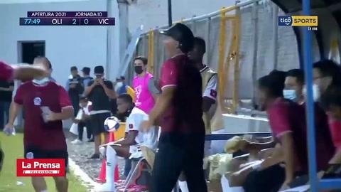 Eddie Hernández destroza al Victoria con un triplete y Olimpia endereza el camino en el Torneo Apertura 2021