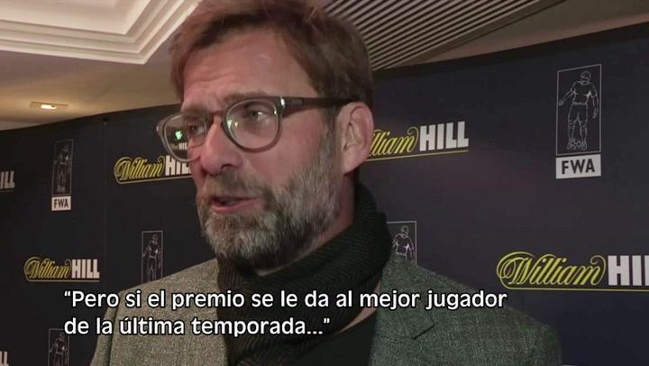 Messi o Van Dijk: Klopp 'se moja' sobre el Balón de Oro