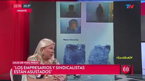 De Vido es más importante que Cristina, es el gran coimero en nombre del Estado, dijo Carrió