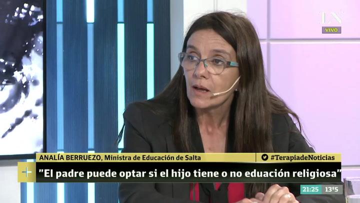 Resultado de imagen para La ministra de Educación salteña defendió las clases de religión en las escuelas