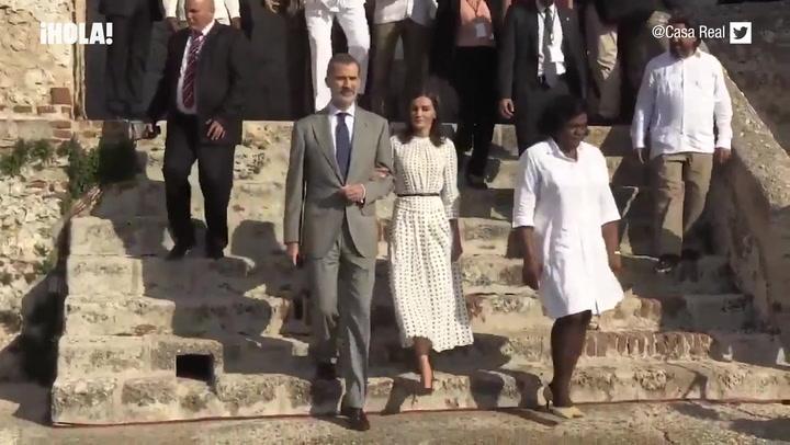 Los dos últimos actos de los Reyes en Cuba