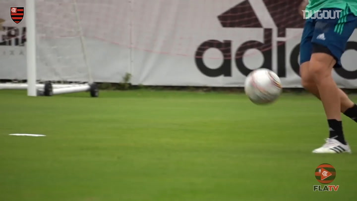 Flamengo's first session ahead of Carioca final