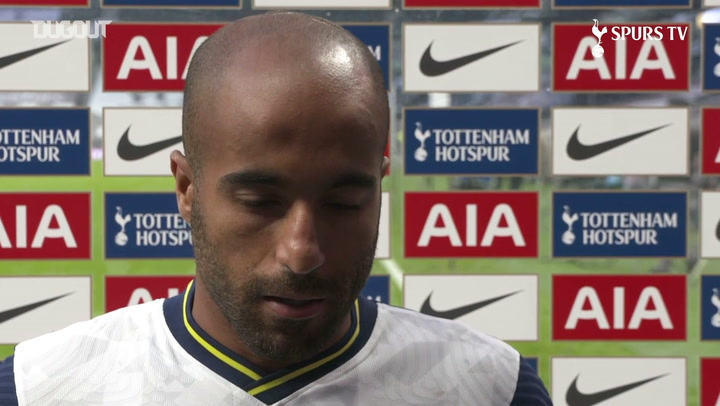 Lucas Moura: Tottenham need to do better