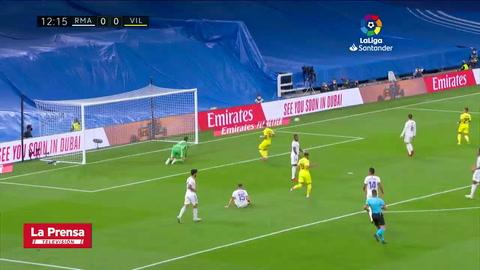Real Madrid 0-0 Villarreal (Liga Española)