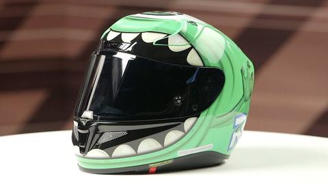 43736ab2 HJC RPHA 11 Pro Mike Wazowski Helmet | 10% ($62.00) Off! - RevZilla