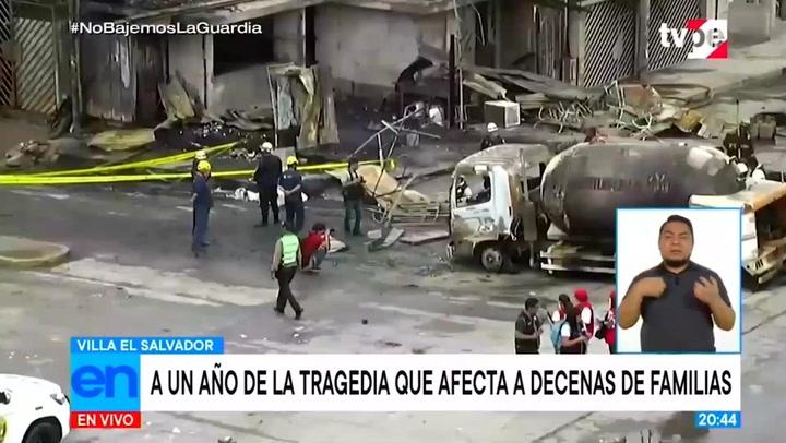 Villa El Salvador: A un año de explosión de cisterna, víctimas exigen justicia