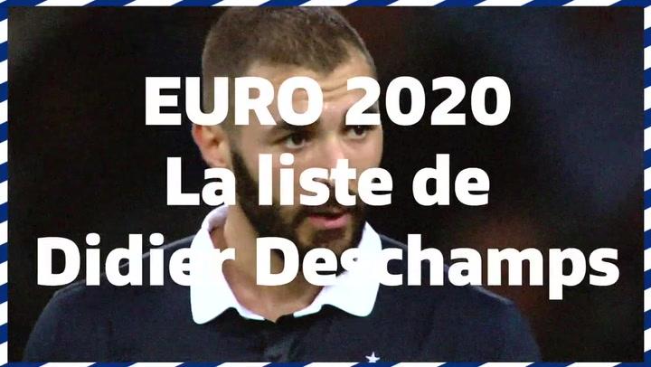 Deschamps anuncia su convocatoria para la Eurocopa