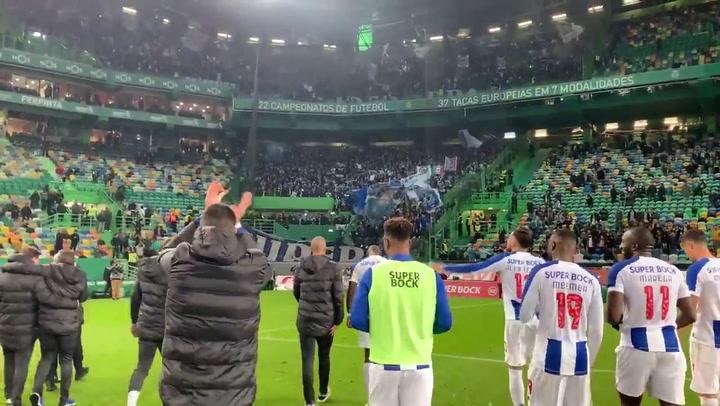 El Porto gana el clásico al Sporting y sigue de cerca al Benfica