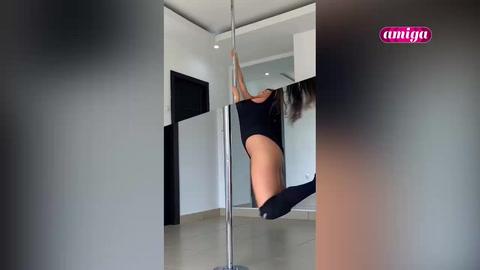 Amiga: Pole, Fuerza, flexibilidad y fluidez