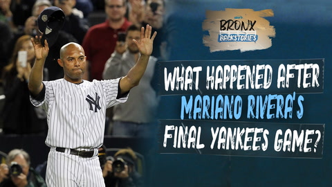 What happened after Mariano Rivera's final Yankees game?   Bronx Backstories