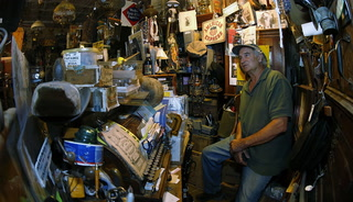 Antiques dealer Ron Bommarito talks about his collection