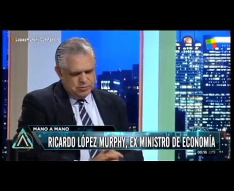 López Murphy: Se alargó la esperanza de vida y eso implica un desajuste