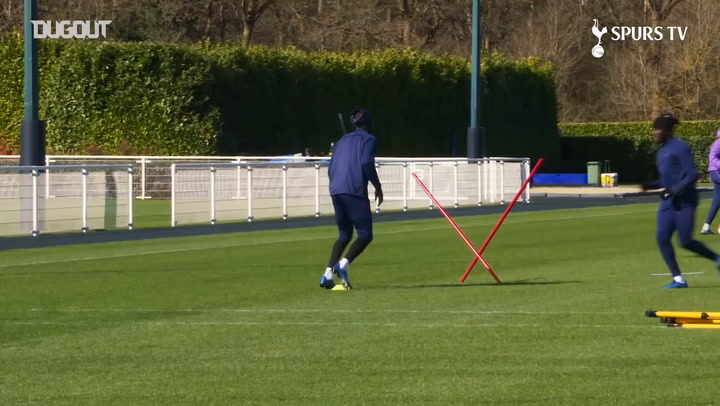Moussa Sissoko returns to Spurs training