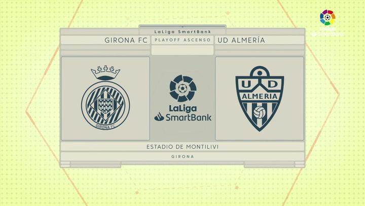 Resumen SmartBank: Resumen y goles del Girona 3-0 Almería