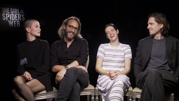 'The Girl in the Spider's Web'   Unscripted   Claire Foy, Fede Alvarez, Sylvia Hoeks, Sverrir Gudnason