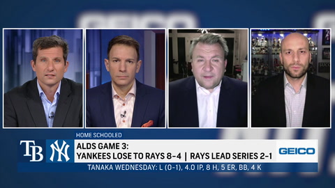 How disappointing was Masahiro Tanaka in Game 3 of the ALDS?
