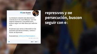 Guaidó denuncia allanamiento