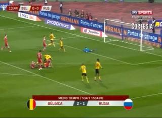 ¡Hazard pone a ganar a Bélgica en la fase clasificatoria de la Euro 2020!