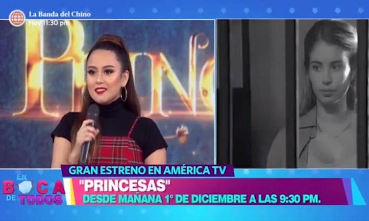 Amy Gutiérrez emocionada por su debut como actriz en Princesas
