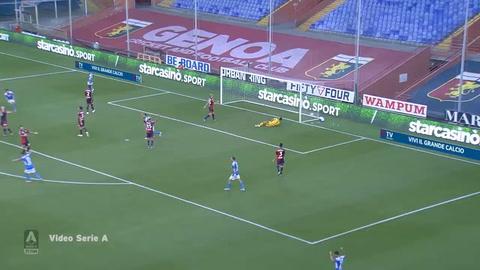 Génova 1-2 Napoli (Serie A)