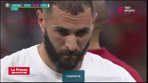 Portugal 2 - 2 Francia (EUROCOPA 2020)