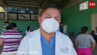 Honduras: Realizan brigada médica contra el covid-19 en Hato de Enmedio