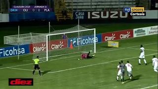 Gol tempranero de Bengtson de penal y Olimpia esta\u0301 venciendo al Platense en el Nacional