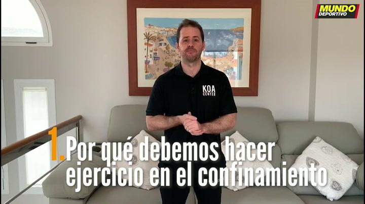 ENTRENA EN CASA (1): Por qué debemos hacer ejercicio en el confinamiento