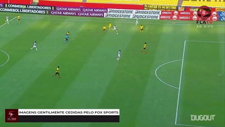 Flamengo beat Barcelona SC at Ecuador