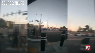 North Las Vegas Police release footage of legal observer – VIDEO