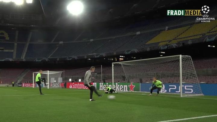 El Ferencvaros se estrena en el Camp Nou en competición europea