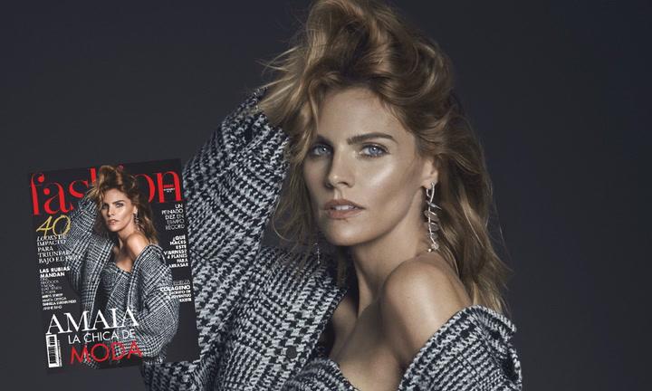 Amaia Salamanca, la chica de moda en Fashion noviembre