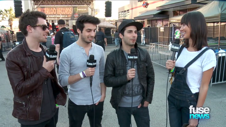 Shows: Fuse News: EDM Trio Cash Cash Explain Why All Three Members Don't Always Perform in Concert