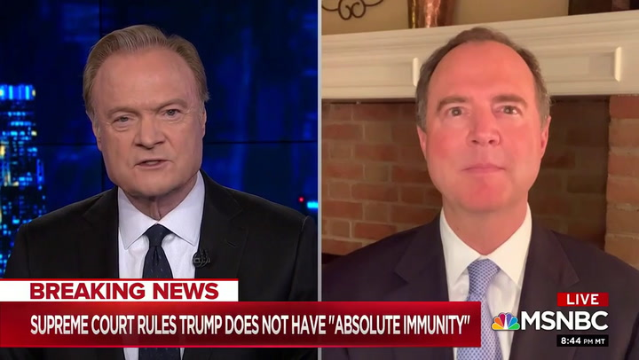 Schiff: If We Don't Get Trumps Financial Records 'The Country Continues to Be at Jeopardy'