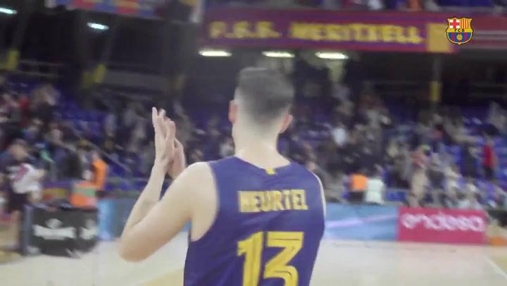 La esperada vuelta de Heurtel a la disciplina del Barça