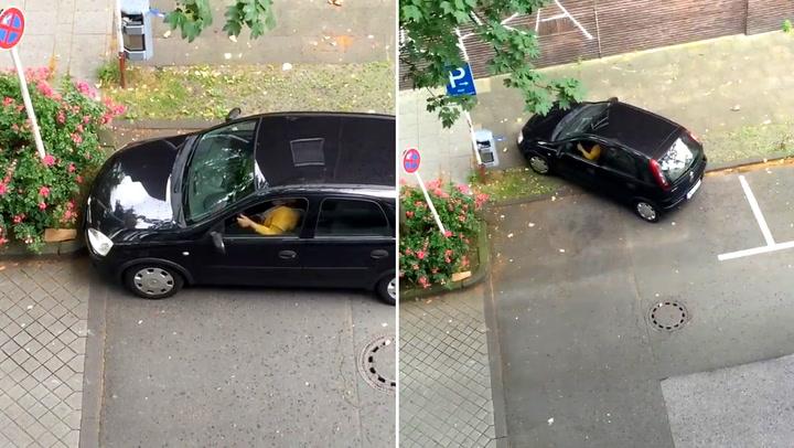 Er dette tidenes dårligste forsøk på lukeparkering?