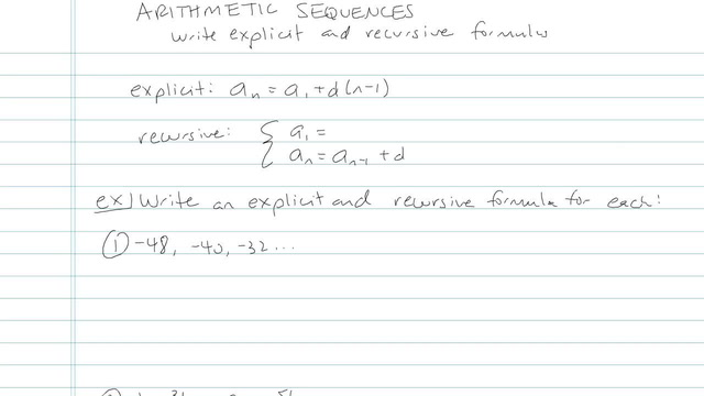 Arithmetic Sequences - Problem 15