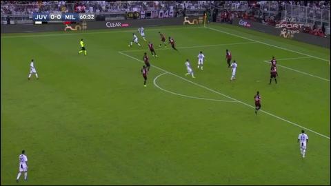 Juventus 1 - 0 Milan
