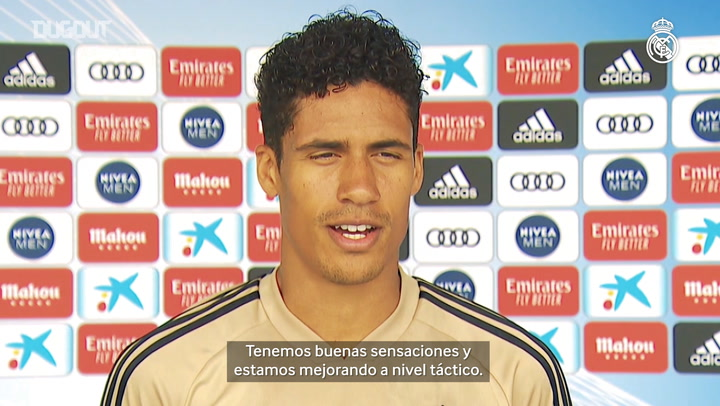 "Varane: ""Tenemos muchas ganas de competir"""